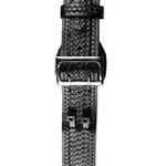 Sam Browne LEATHER Belt 2 1/4 Fully Lined, Black Basketweave with Solid Brass Buckle