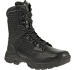 Code 6 Boots, 8, Side Zip - BLACK