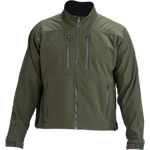 CA State Parks Soft Shell Jacket - Forest Green, Polyester/Spandex