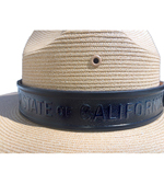 CA State Parks Leather Hat Band