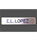 CA State Parks Name Badge - Personalized, Metal